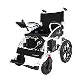 Y-L Elderly Disabled Fold Foldable Power Compact Mobility Aid Wheel Chair, Lightweight Folding Carry Electric...