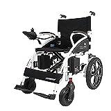 XQY Medizinischer Rehabilitationsstuhl, Rollstuhl, Zusammenklappbarer Rollstuhl Mit Kompakter Mobilitätshilfe, Leichter Zusammenklappbarer Elektrorollstuhl, Motorisierter Rollstuhl, 250 * 2-Motorroll -