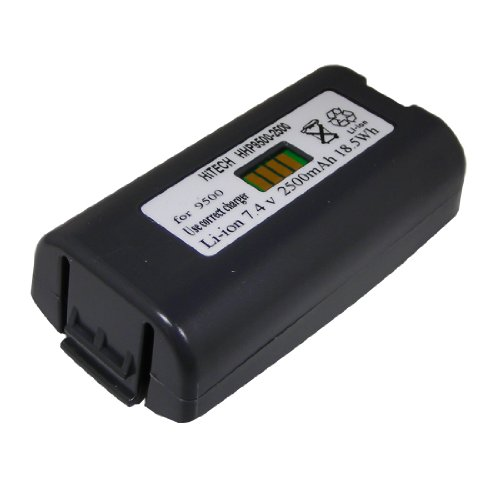Hitech - 20000591-01 Lilon 7.4v2600mAh Battery(Cell of Made in Japan) for Hand-Held Products (HHP) Dolphin 7900, 9500, 9501, 9550, 9551&Honeywell 9900 Barcode Scanners