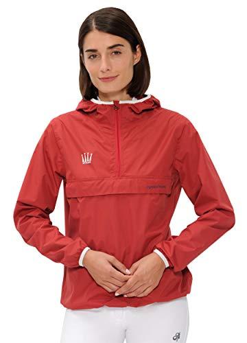 Spooks SPOOKS Damen Jacke, leichte Damenjacke mit Kapuze, Herbstjacke - Kaya Rain Jacket Red L