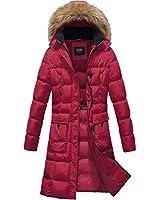 ELORA Women's Winter Puffer Mi...