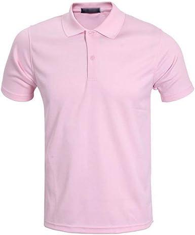 Polo De Los Hombres Camisa De Polo De Tamaños Cómodos Golf De ...