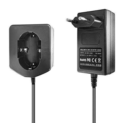 Ladegerät kompatibel mit Hitachi Ni-MH/Ni-CD Werkzeug-Akkus 7.2V, 9.6V, 12V, 14.4V, 18V - 1.5A, 1A