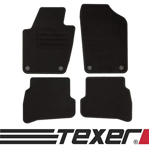 CARMAT TEXER Textil Fußmatten Passend für Seat Ibiza IV 6J Bj. 2008-2017 Basic