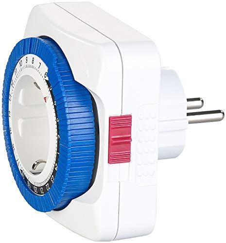 revolt Zeitschaltuhr analog: Zeitschaltuhr mit 24-Stunden-Timer, Schaltung alle 15 Minuten, 3.680 W (Mechanische Zeitschaltuhr)