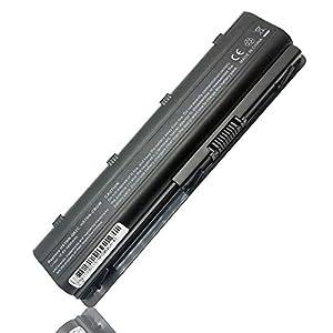 Batería para HP MU06 593553-001 593554-001 MU09 HSTNN-Q62C HSTNN-CBOW HP 250 255 2000 635 650 655 Pavilion G4 G6 G62 G7 dv6 Compaq Presario CQ42 CQ56 CQ62 Ordenador (6 Celdas 4400mAh 10.8V Negro)
