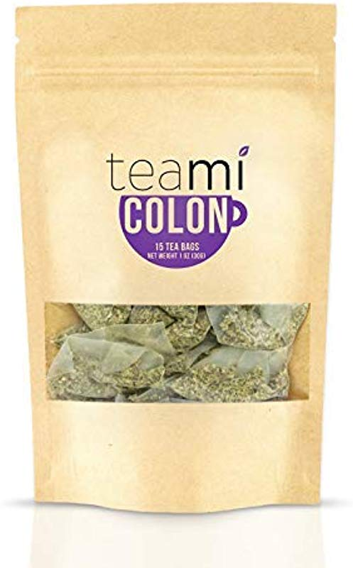 Teami Colon Cleanse Detox Tea 15 Tea Bags 30 Day Supply