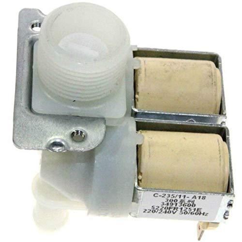Valvola elettrovalvola lavatrice LG F10B8NDW5 F10B8QD F10B8QD0 F10B8QD5 F10B8QDA7 F10B8QDW F10B8QDW5 F10B8SD0 F10B8TD1 F10B8TDW F10B9FLD 10B9LDD. 1 F10B9LDW