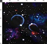 Weltraum, Planeten, Sterne, Galaxie Stoffe - Individuell