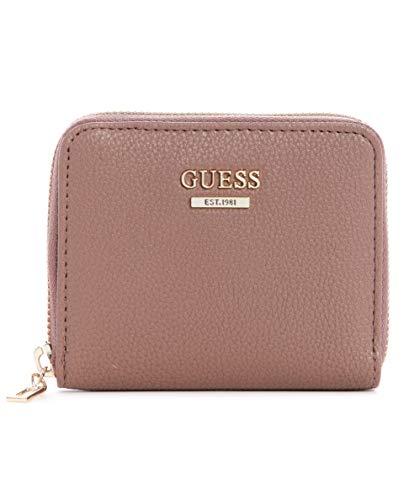GUESS Damen Naya Small Zip Around Geldbörse, Mehrfarbig (Stein Multi), Einheitsgröße