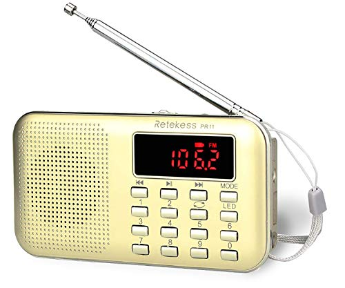 Radio Transistor Pequeño  marca Retekess