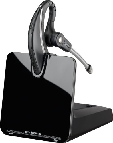 Plantronics CS530 Office Wireless Headset with Extended Microphone, Single
