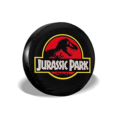 hgerGWW Copriruota Jurassic Park Copri Pneumatici Impermeabile, Antipolvere e Anti-UV Copri Ruota di scorta Accessori Auto Copri Pneumatico Protettivo Adatto per Camion,SUV