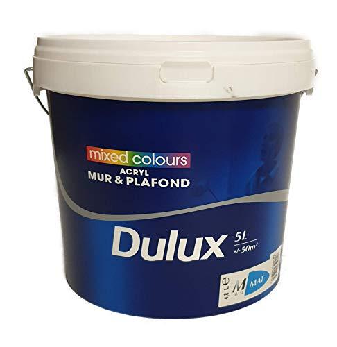 Dulux Wandfarbe 5 Liter Matt Schwarz
