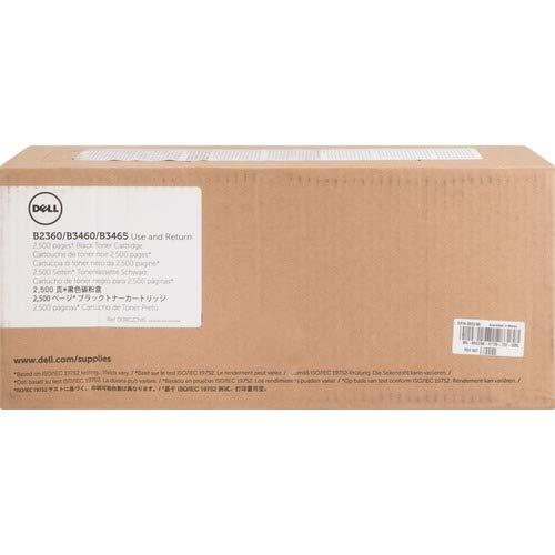 Dell RGCN6 Toner Cartridge B2360d/B2360dn/B3460dn/B3465dn/B3465dnf Laser Printers - Black