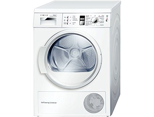 Bosch WTW863S1GB tumble dryer 7kg A + + White Front Load (Self Heat Pump, Front Load, Rotary, White, Right)