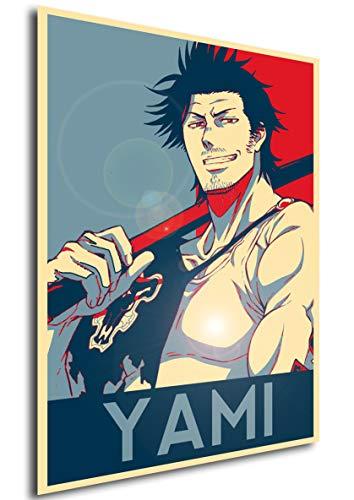 Instabuy Poster - Propaganda - Black Clover - Yami Variant A4 30x21