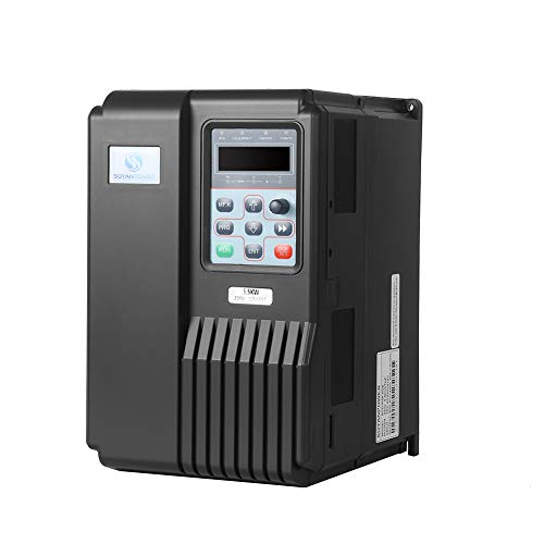 Best Prices! LAPOND High Performance VFD Inverter VFD Drive 11HP 7.5KW 220V,Variable Frequency Drive...
