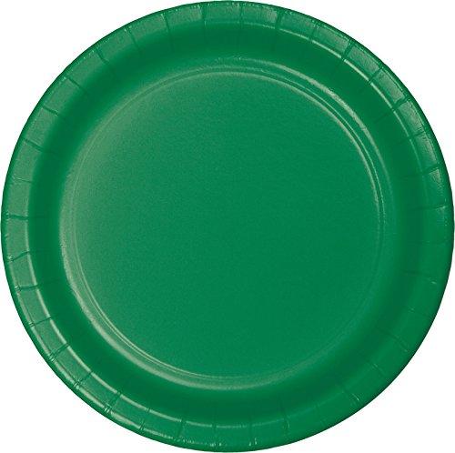 Creative Converting 75-Count Value Pack Papier Assiettes Plates, Vert émeraude