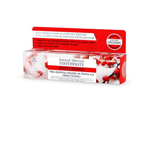 Natura Siberica Natural Siberian Toothpaste Frosty Berries 100g