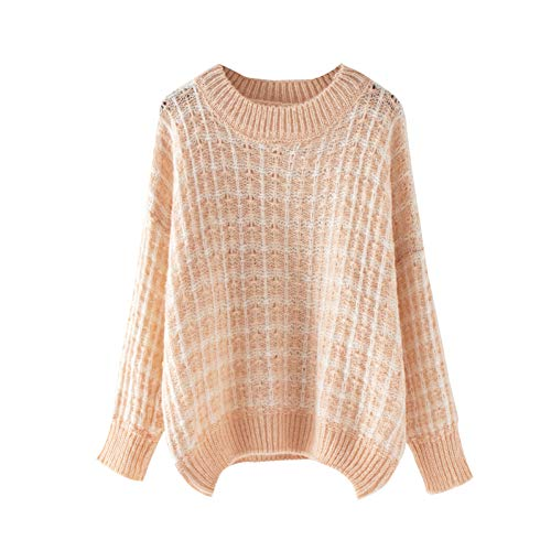YUPERKNI dames plastic rickjack druppels schouder oversized haakwerk grof trui val-winter-sterke warme gebreide trui