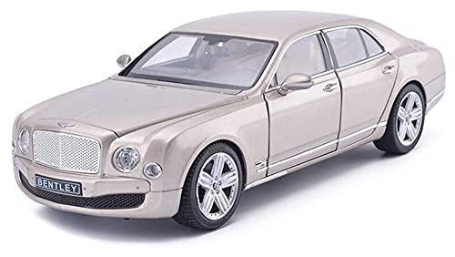 Modelo de automóvil Limusina 1:18 Mulsanne Simulación Aleación de la aleación Die-Casting Ornamentos de juguete Deportes Colección de autos Modelo de joyería para escaparate recoger adornos, 30x12x7cm