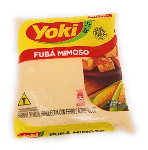 500g Harina de Maiz - extra fina - Fuba de Maiz - Fuba mimoso - de Brazil - Farinha de milh