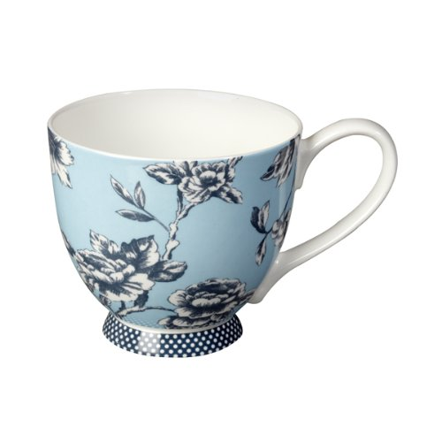 This Portobello mug is made from bone china with a gloss finish which looks great and is perfect for everyday use.