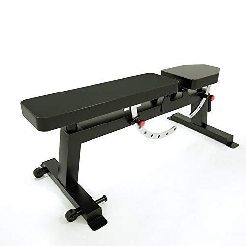 JIANCHI Banc D'haltères Sport, Banc Musculation Professionnel Multifonctionnel Sit-Up Board Muscles Abdominaux Banc Poids 500KG Commercial Banc d'haltères (Color : A)