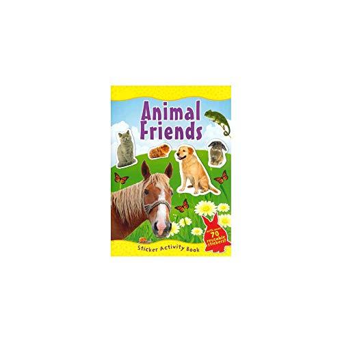 ANIMAL AMIGOS Pegatina Libro De Actividades (A4)