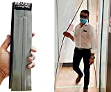 RE-U-ZIP Magnetic Dust Barrier Entry Strip   Creates a Self-Closing, Negative-Air Resistant Entry in Any Plastic Dust Barrier