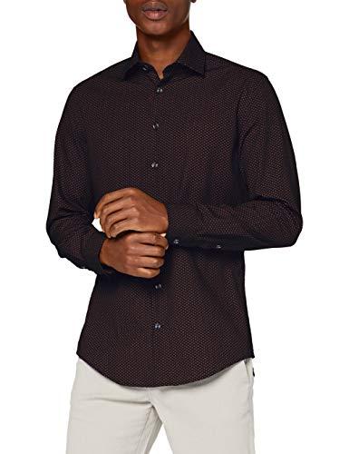 Seidensticker Herren Business Hemd, Orange, 41