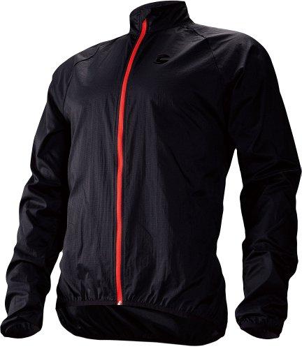 Cannondale Men's Pack Me Jacket, Black, Medium