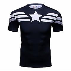 Cody Lundin firmemente Impreso aleeve Corto Camiseta Culturismo Masculino