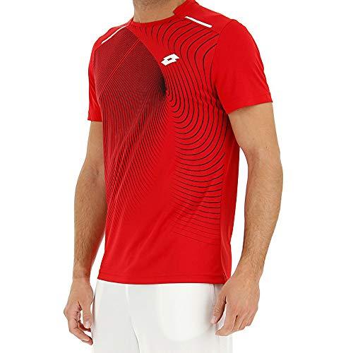 Lotto Camiseta Superrapida II tee. Red Toreador. 210574