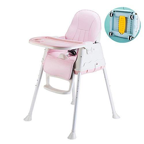 WYJW multifunctionele eetkamerstoel voor kinderen, eetkamertafel, draagbaar, opvouwbaar, voor baby's, klapstoel, voor kinderen