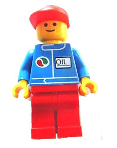LEGO City - seltene Minifigur Mechaniker oct050 - Tankstelle Octan