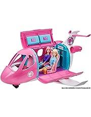 Barbie, Samolot + Ponad 15 Akcesoriów GDG76