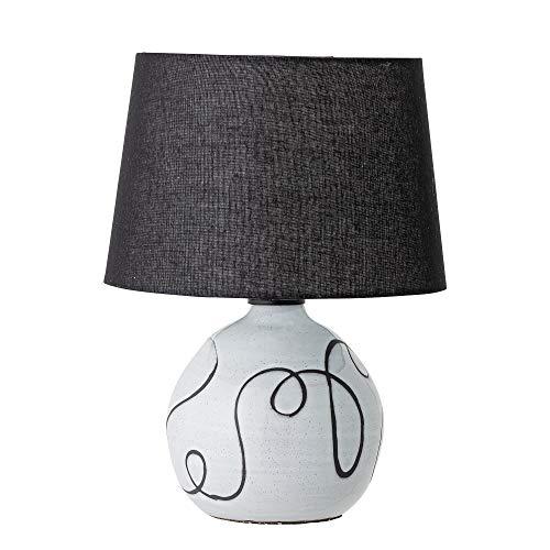Bloomingville Tischlampe, weiß, Terrakotta
