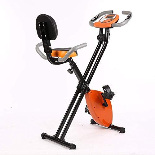 Máquina elíptica, Máquina de entrenamiento cruzado, Bicicleta de ejercicio plegable con control magnético ultra silencioso Bicicleta con respaldo, Deportes de interior para el hogar EFitness motion