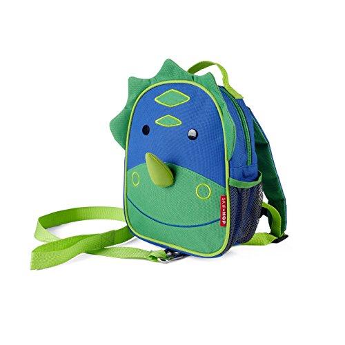 Skip Hop Toddler Backpack Leash, Zoo, Dino, 7.5x3.25x9 Inch (Pack of 1)