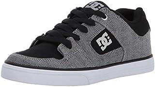 DC Men's Pure TX SE Skate Shoe Black/Grey/Black 5.5 M US Big Kid [並行輸入品]