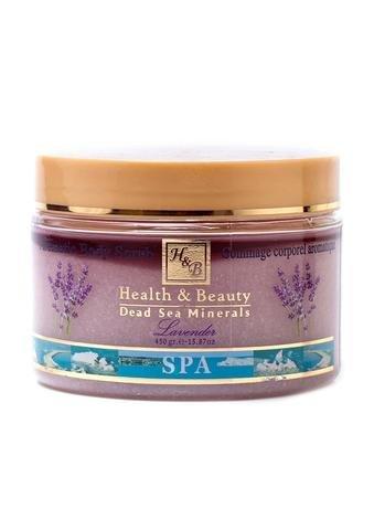 Health & Beauty Scrub Corpo con Estratti di Lavanda - 450 gr