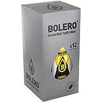 Bolero Bebida Instantánea sin Azúcar, Sabor Energética - Paquete de 12 x 7 gr - Total: 84 gr