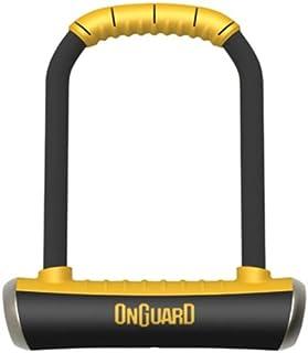 On-Guard 8001 Brute STD-8001 Keyed Shackle Lock - Black, 11.5 x 20.2 cm