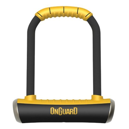On-Guard 8001 Brute STD-8001 Keyed Shackle Lock - Black, 11.5 x 20.2 cm