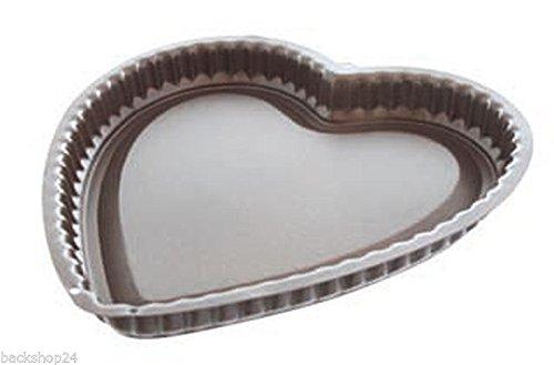 Herz-Tortenbodenform 270 mm