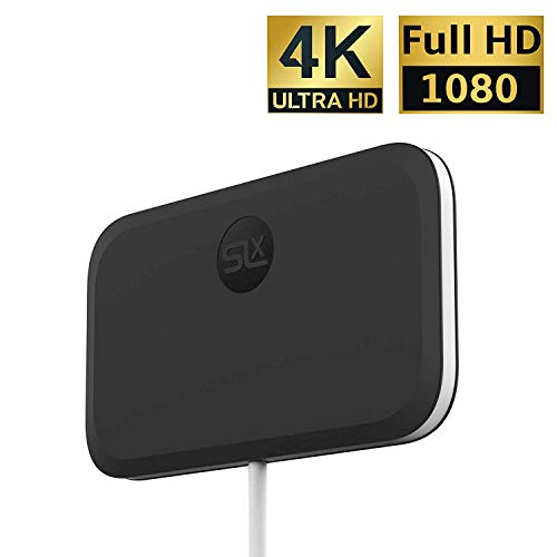 SLx Indoor TV antenne Ultra Compact voor digitale TV 4K HD