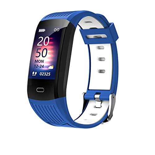 Haloyo Reloj Inteligente M9s, Reloj de Fitness, Monitor de frecuencia cardíaca, podómetro, rastreador de Actividad, Pulsera Inteligente de análisis del sueño, Reloj Deportivo a Prueba de Agua IP67
