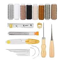 革細工作業工具DIYキット糸縫い針ステッチ千枚通し革細工作り